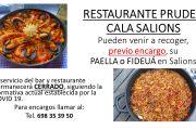 Restaurant Pruden de Salions - COVID19