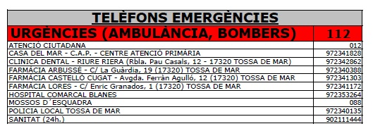 20160805 telefons emergencies catala